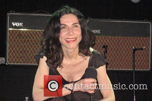 PJ Harvey performing live at the Filmore at...