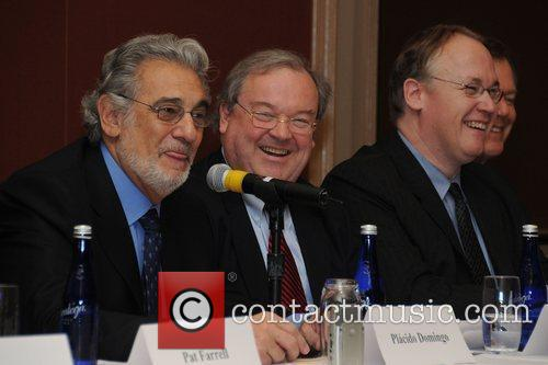 Tenor Placido Domingo and Orchestra of Philadelphia Board...