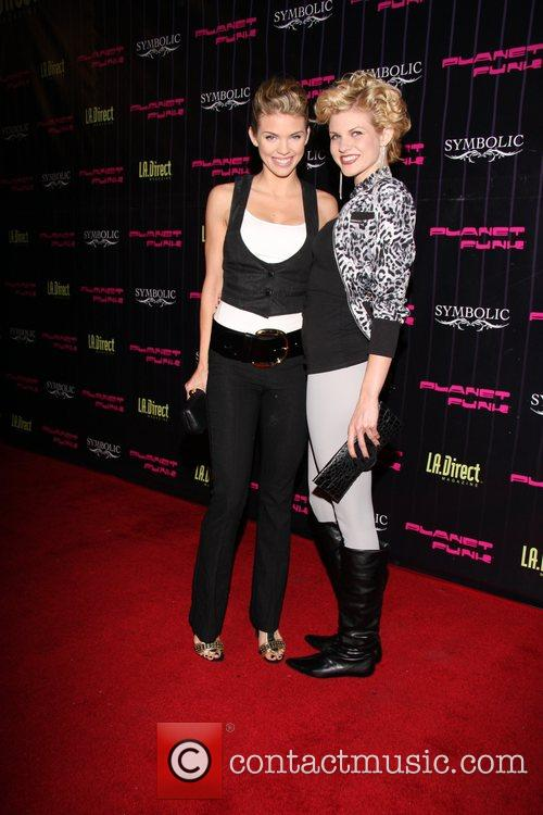 Annalynne McCord and her sister Angel McCord Planet...