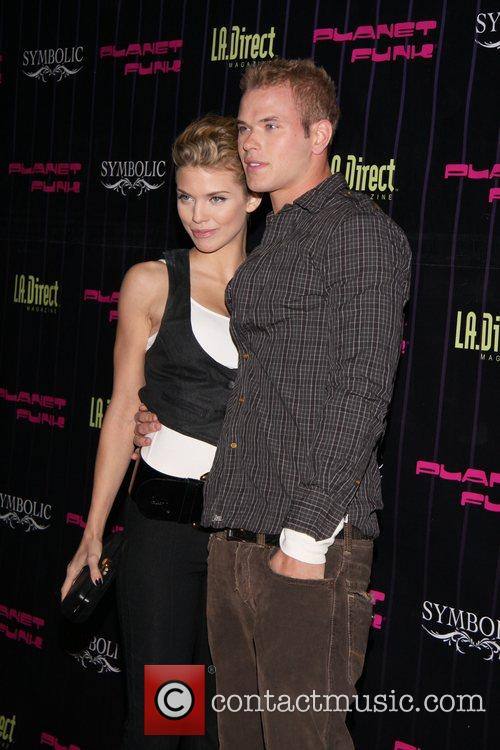 Annalynne McCord and Kellan Lutz Planet Funk's Fashion...