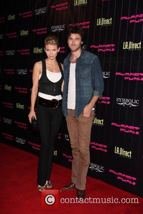 Annalynne McCord and Ryan Eggold Planet Funk's Fashion...
