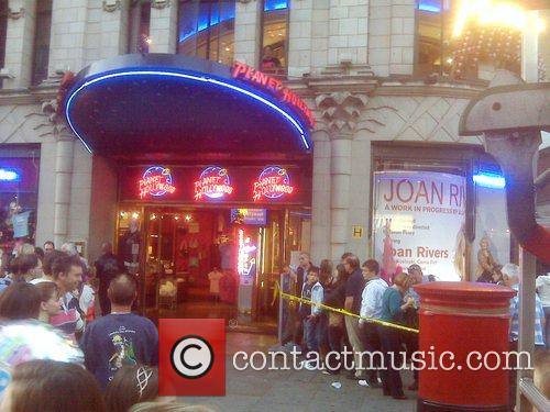 A fire was reported at Planet Hollywood in...