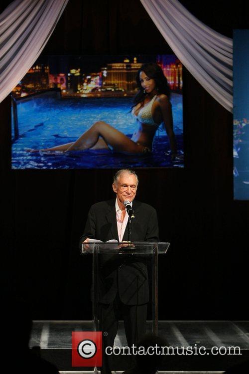 Hugh Hefner Playboy Playmate of The Year 2009...