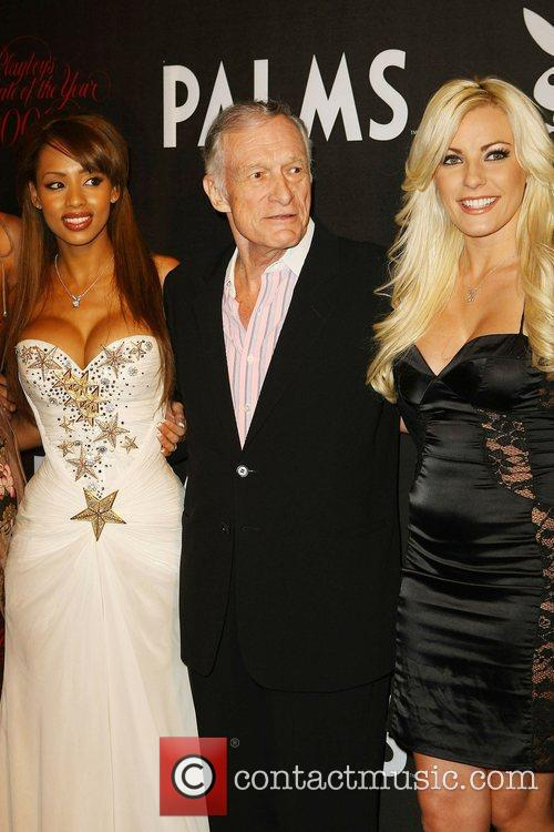 Ida Ljungqvist and Hugh Hefner 1