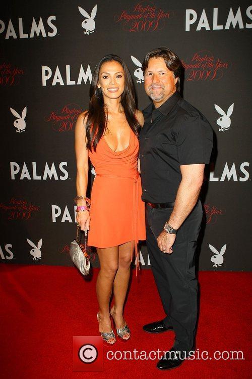 Jodi Ann Paterson and Michael Andretti Playboy Playmate...