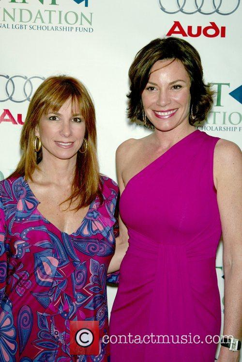 Jill Zarin and Countess Luann Nadeau at the...