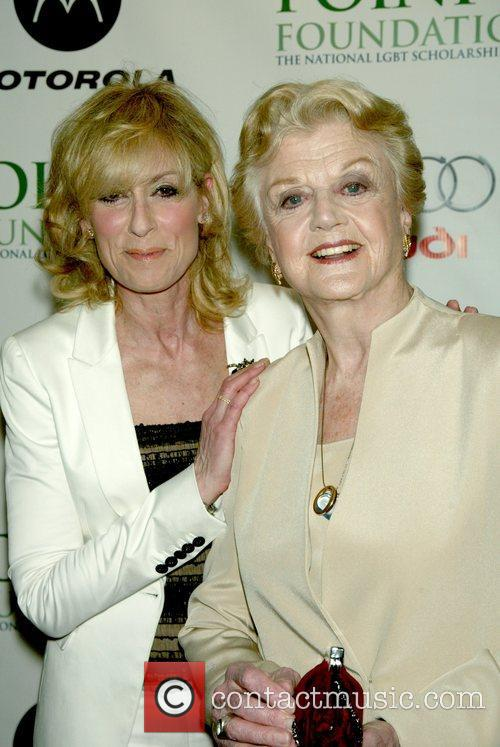 Judith Light and Angela Lansbury at the Point...