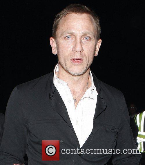 Daniel Craig leaves the Women in Film's 2nd...