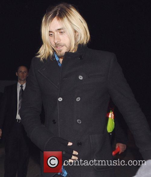 Jared Leto leaves the Women in Film's 2nd...