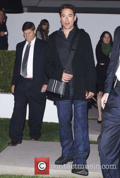 Robert Downey Jr. leaves the Women in Film's...