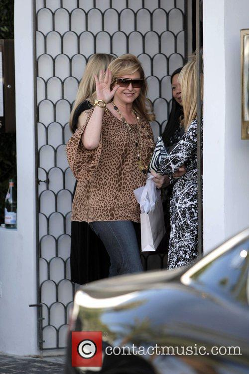 Kathy Hilton  seen leaving a pre-Oscar party...