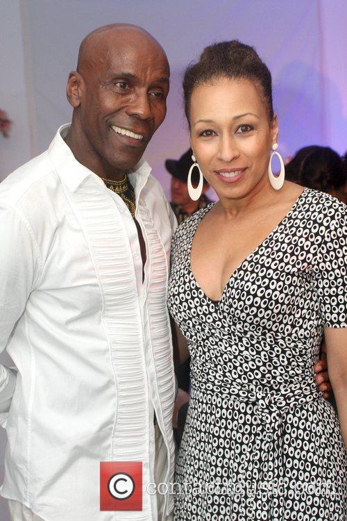 Preston Bailey and Tamara Tunie Preston Bailey's 60th...