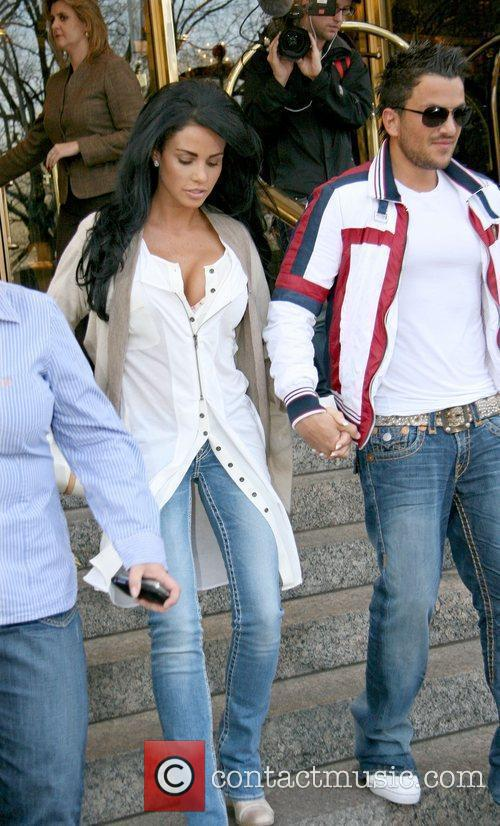 Katie Price, Peter Andre, Manhattan Hotel