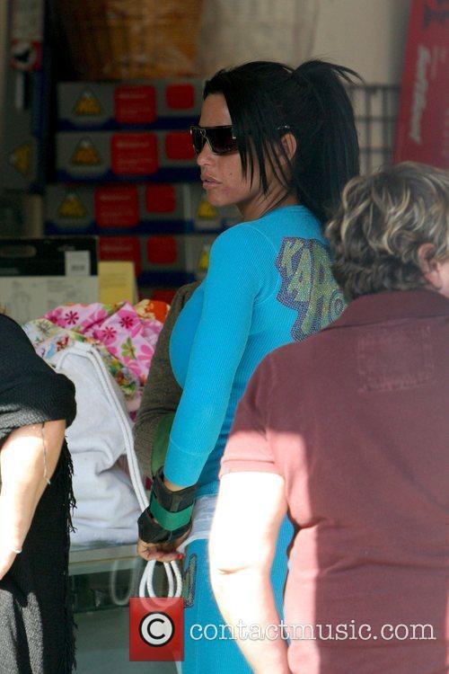 Jordan aka Katie Price at Venice Bike &...