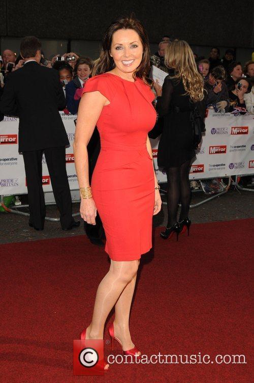 Carol Vorderman at Pride of Britain Awards held...
