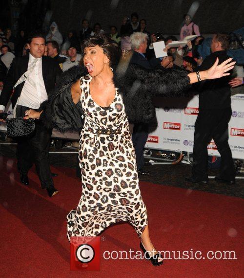 Shirley Bassey at Pride of Britain Awards held...