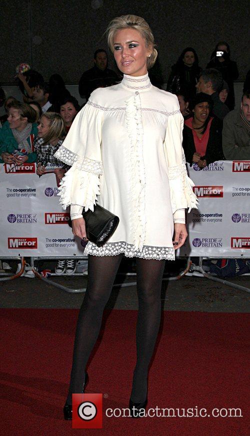 Alex Curran 'Pride Of Britain' Awards at London...