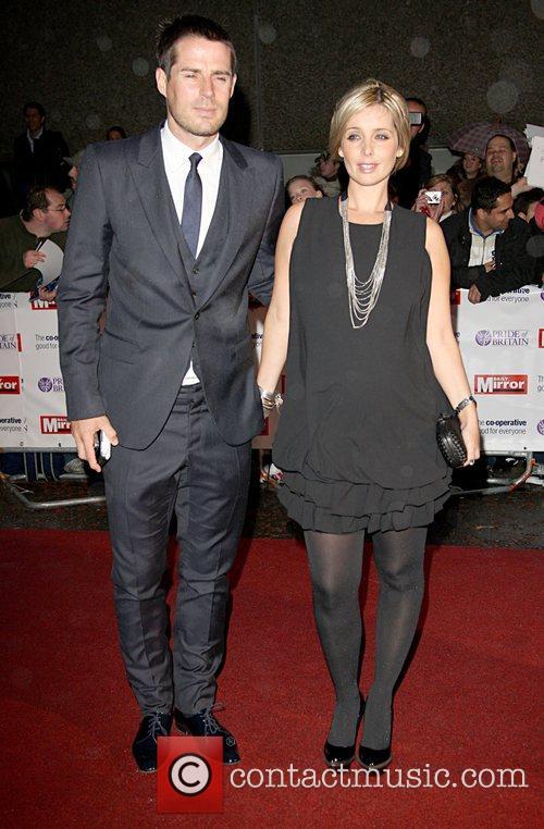 Jamie Redknapp and Louise Redknapp 'Pride Of Britain'...