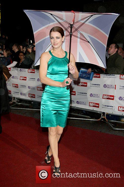 Kirsty Gallacher 'Pride Of Britain' Awards at London...
