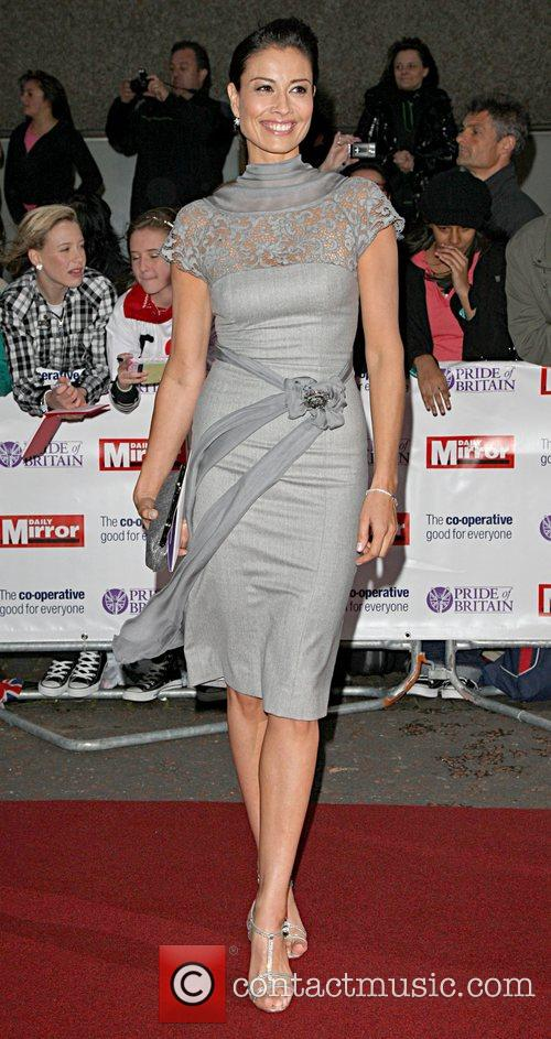 Melanie Sykes 'Pride Of Britain' Awards at London...