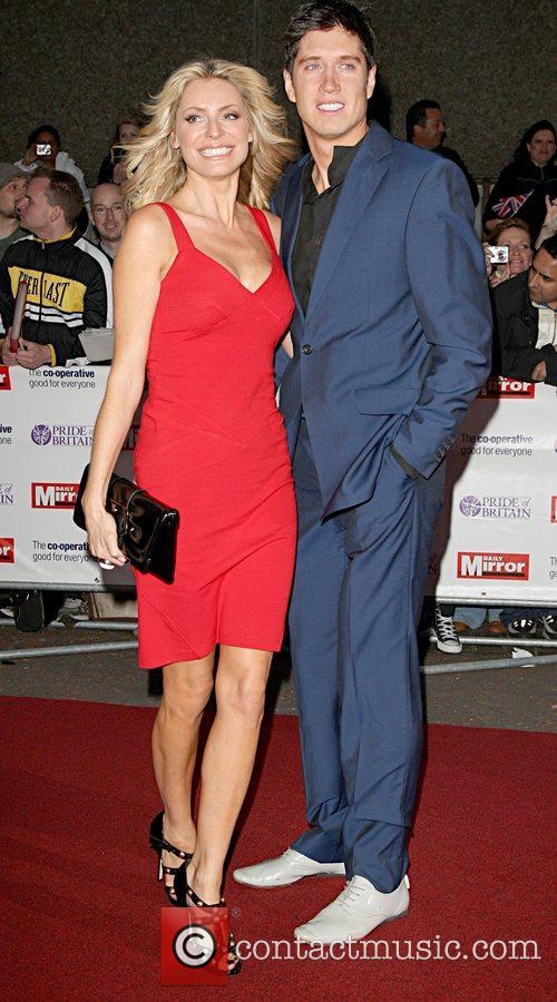 Tess Daly and Vernon Kay 'Pride Of Britain'...