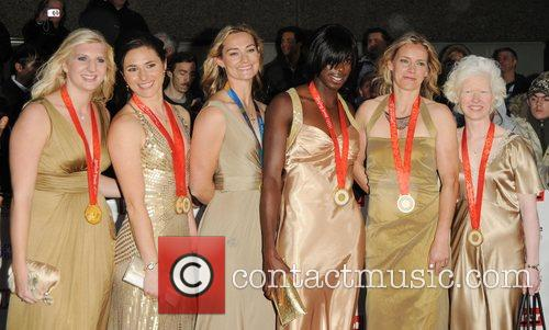 Beijing Olympic gold medalists at Pride of Britain...