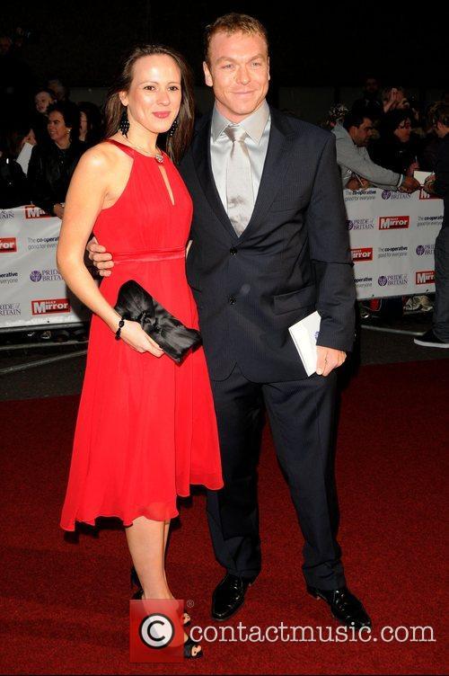 Chris Hoy  at Pride of Britain Awards...