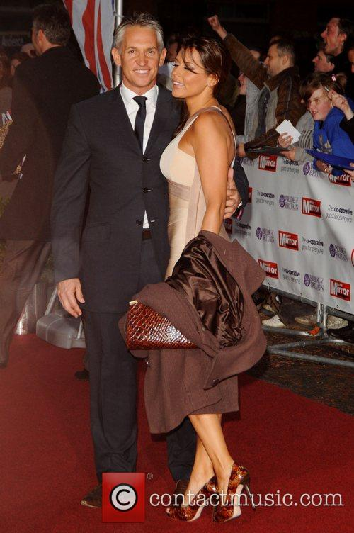 Gary Lineker and Danielle Bux at Pride of...