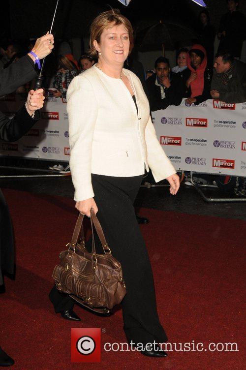 Jacqui Smith at the 'Pride Of Britain' Awards...