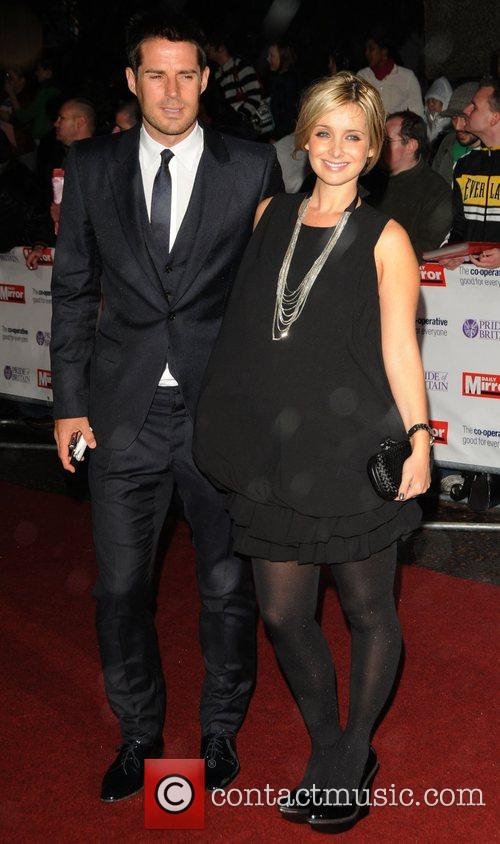 Jamie Redknapp and Louise Redknapp at Pride of...