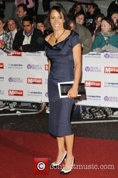 Kelly Holmes  at Pride of Britain Awards...