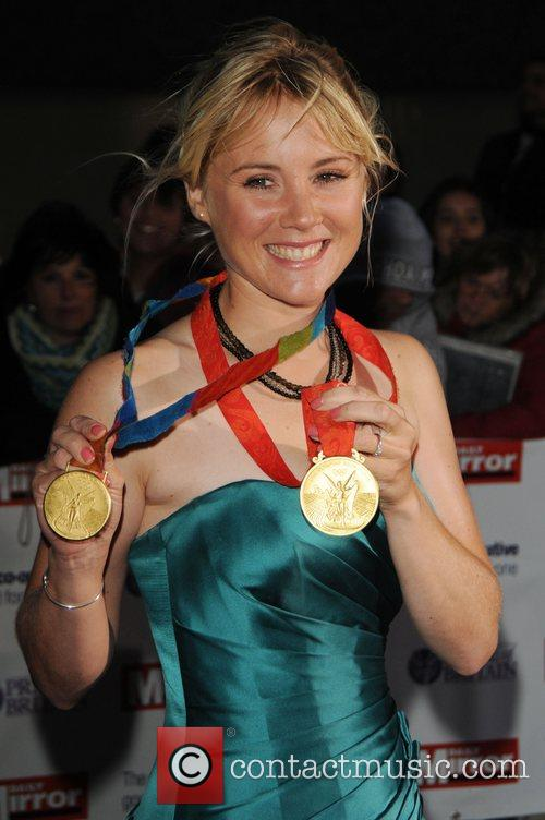 Sarah Ayton olympic gold medalist at Pride of...