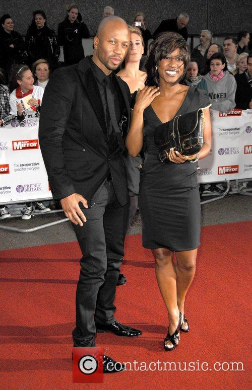 Beverley Knight at the 'Pride Of Britain' Awards...