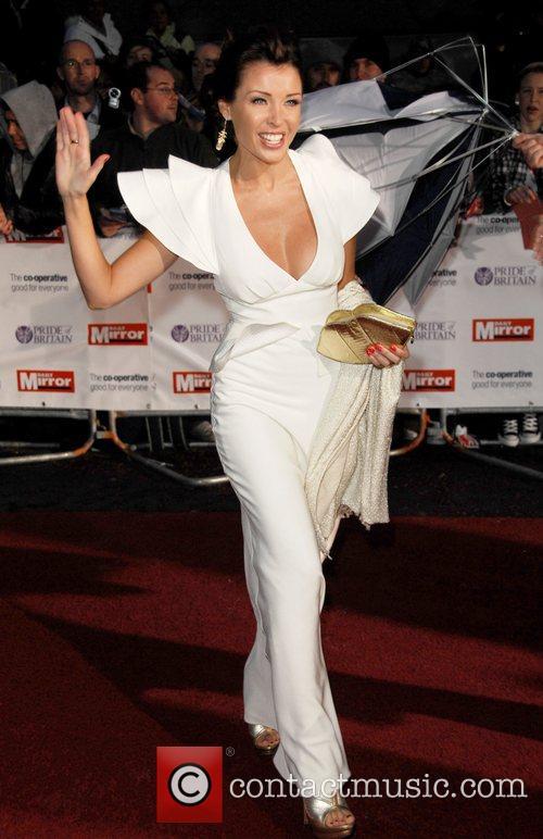 Danii Minogue at the 'Pride Of Britain' Awards...