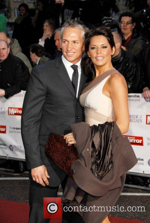Gary Lineker and Danielle Bux  at the...