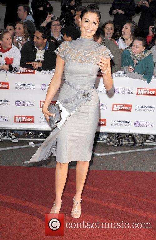 Melanie Sykes at the 'Pride Of Britain' Awards...