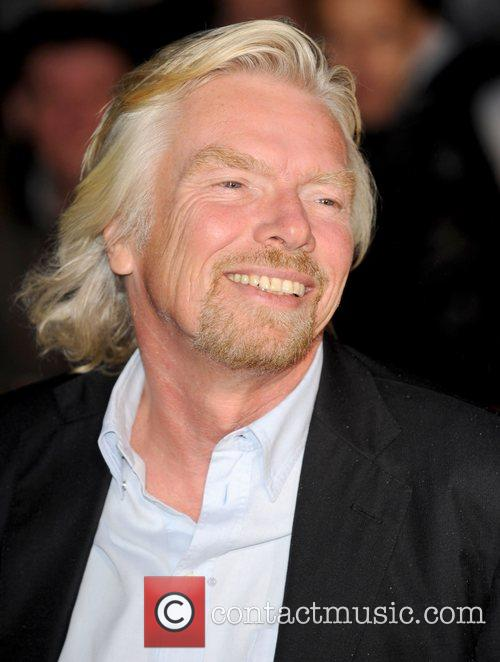 Richard Branson at the 'Pride Of Britain' Awards...