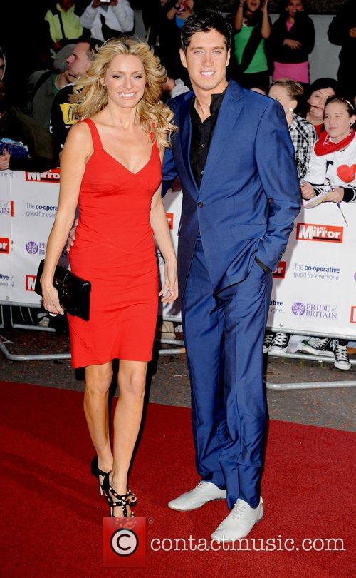 Tess Daly and Vernon Kay at the 'Pride...