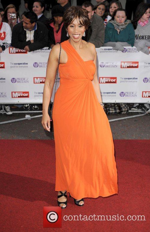 Trisha Goddard at the 'Pride Of Britain' Awards...