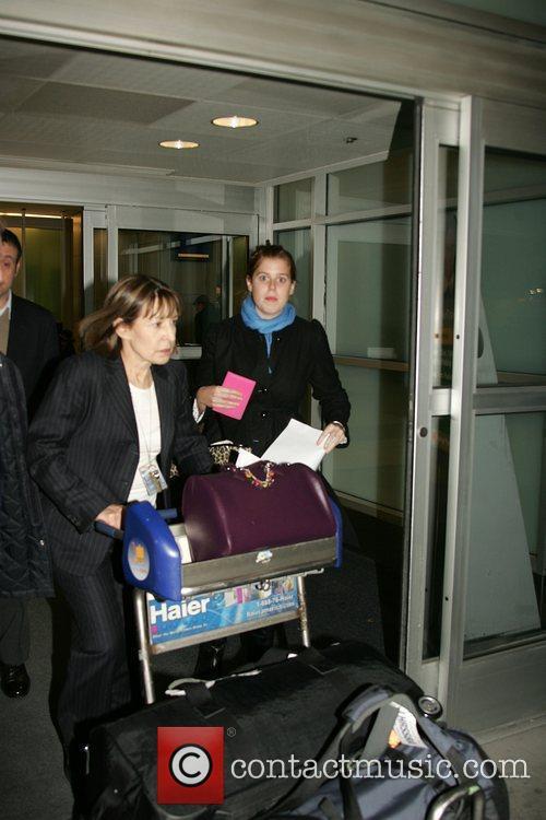 Princess Beatrice arriving at JFK airport
