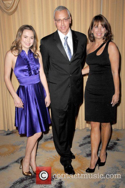 Guest, Drew Pinsky and Susan Pinsky 2009 Prism...