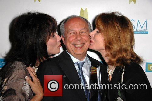 Actress Michele Lee, Robert DeBitetto and Mariette Hartley...