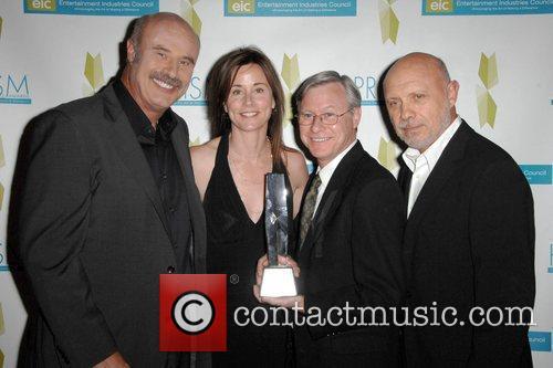 Dr. Phil McGraw, actress Jayne Brook, award recipient...