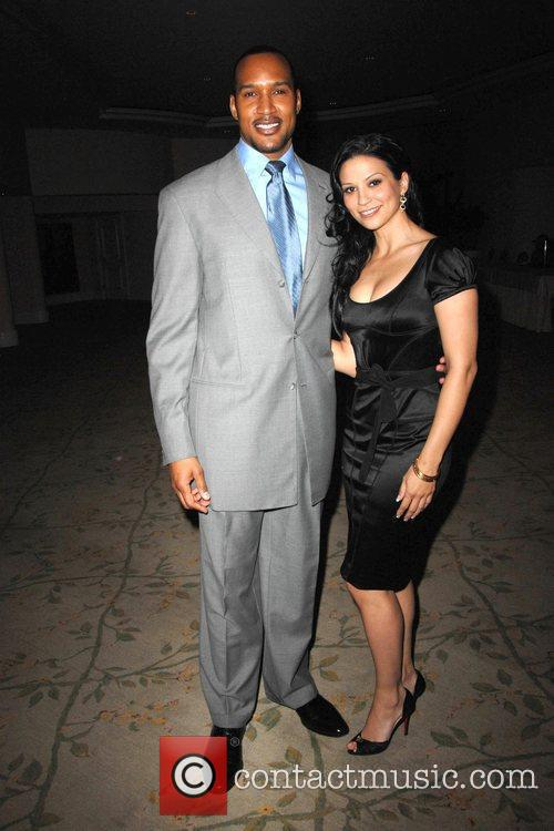 Henry Simmons and Navi Rawat 2009 Prism Awards...