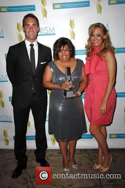 Jay Harrington, Chandra Wilson and Andrea Bowen 2009...