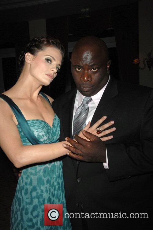 Stana Katic and Gary Anthony Williams 2009 Prism...
