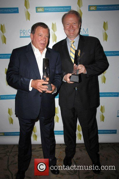 William Shatner and Christian Clemenson 2009 Prism Awards...