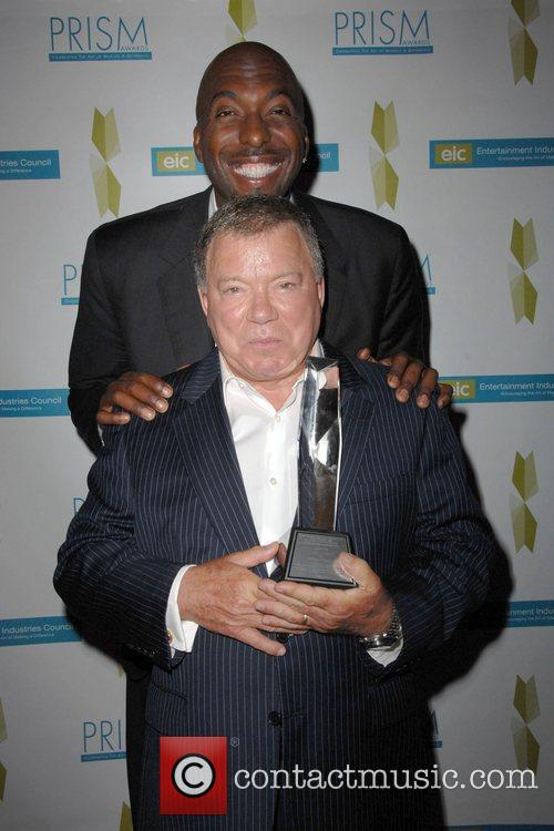 William Shatner and John Selly 2009 Prism Awards...