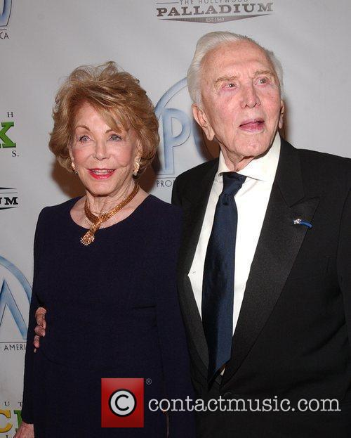 Anne Buydens, Kirk Douglas 20th Annual Producers Guild...