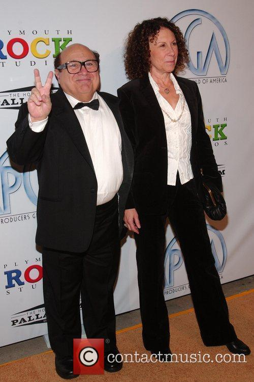 Danny De Vito, Rhea Perlman 20th Annual Producers...